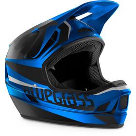 bluegrass Legit Casque, blue metallic glossy/black matte